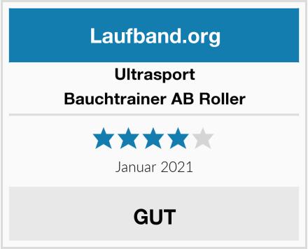 Ultrasport Bauchtrainer AB Roller Test