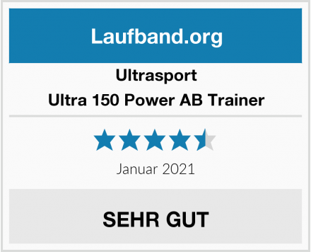 Ultrasport Ultra 150 Power AB Trainer Test