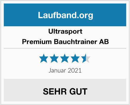 Ultrasport Premium Bauchtrainer AB Test