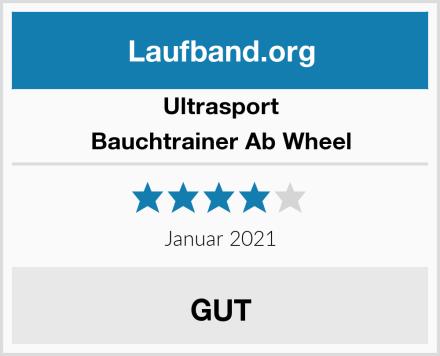 Ultrasport Bauchtrainer Ab Wheel Test