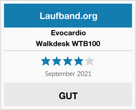 Evocardio Walkdesk WTB100 Test