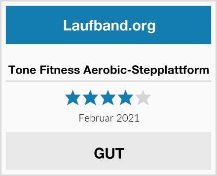 Tone Fitness Aerobic-Stepplattform Test