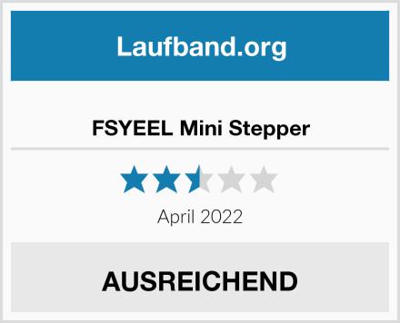 FSYEEL Mini Stepper Test